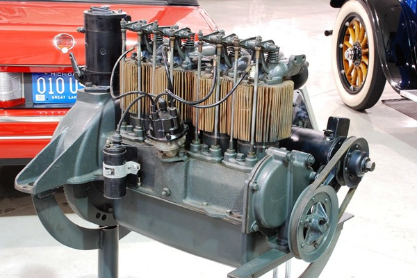 1923 Chevrolet Copper-Cooled engine