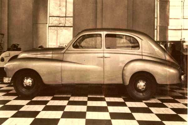 1946 Willys-Overland 6-66 prototype