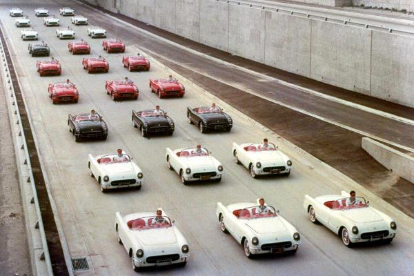 1955 Corvettes