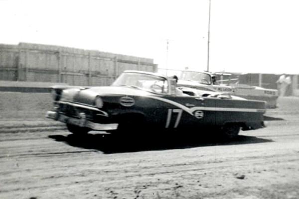 Bill Lang 17 1956 Ford Kansas Fairgrounds