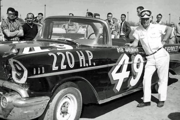 Bob Welborn 49 1957 Chevrolet car and driver