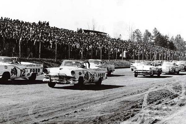 Ford and Mercury Convertibles on dirt