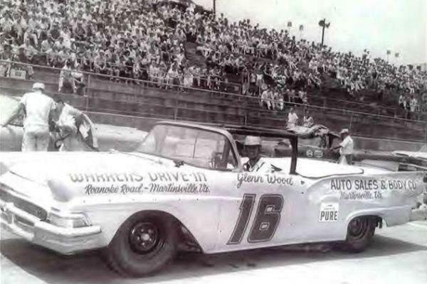 Glen Wood 18 1958 Ford