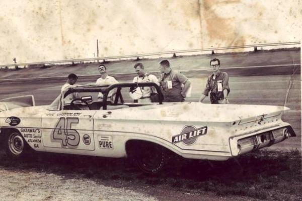 Joe Capsolik 45 1960 Oldsmobile owner Bill Gazaway Darlington