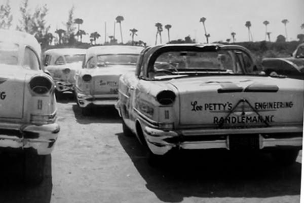 Petty Engineering 1957 Oldsmobiles Daytona Beach