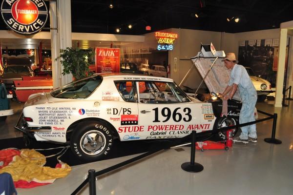 1963 Studebaker Avanti Bonneville racer