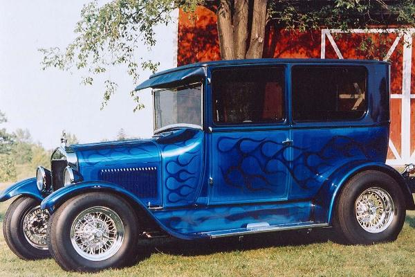 1977 Frank Camden 1926 Ford T Sedan Frigid T