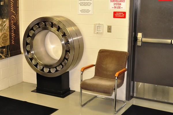 Giant Torrington roller bearing