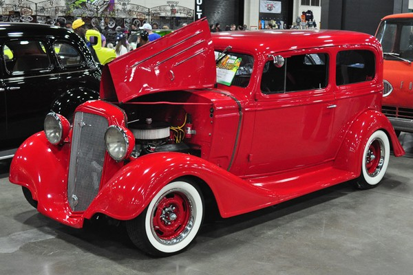 Rich Norris 1934 Chevrolet Coach