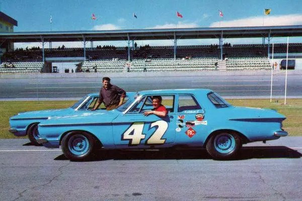 1962 Plymouths Lee and Richard Petty