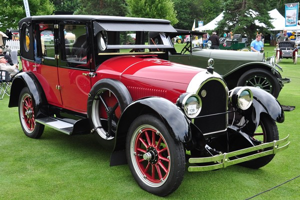 1923 Kissel 6-55 Brougham Opera Sedan Ronald and Esther Hausman
