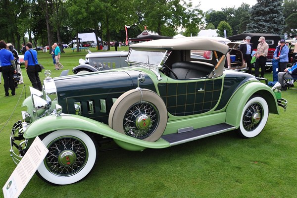 1929 Willys-Knight 66B Plaidside Roadster by Griswold Richard and Shirley Hamilton
