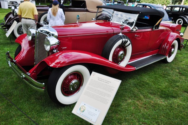 1931 Chrysler CG Imperial Roadster by LeBaron Mark Hyman