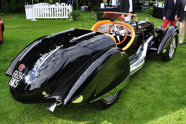1935 Talbot-Lago 150C Roadster rear Jim Patterson