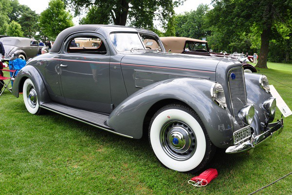 1937 Lincoln K LeBaron Coupe Thomas R. Brace