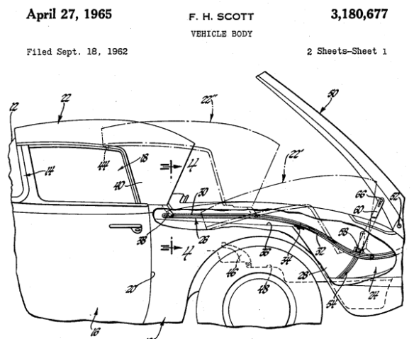 Scott patent drawing