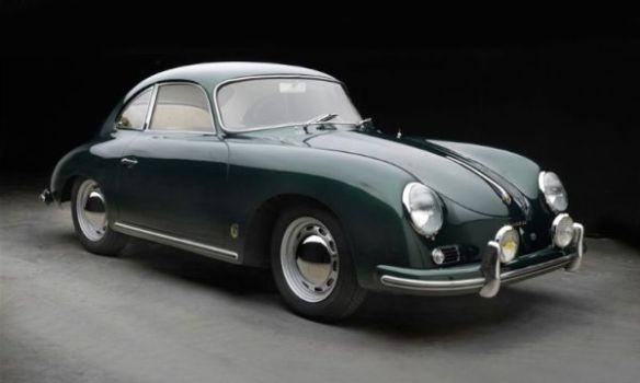 Lagos Green 1956 Porsche 356A
