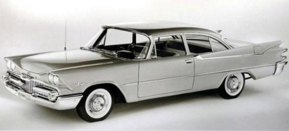 1959 Dodge Silver Challenger press release photo