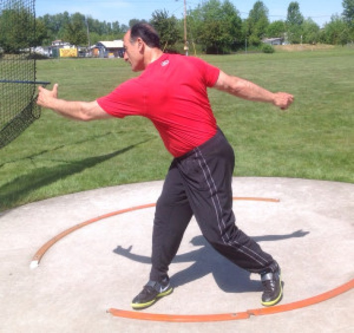 Discus Throw Correct Start