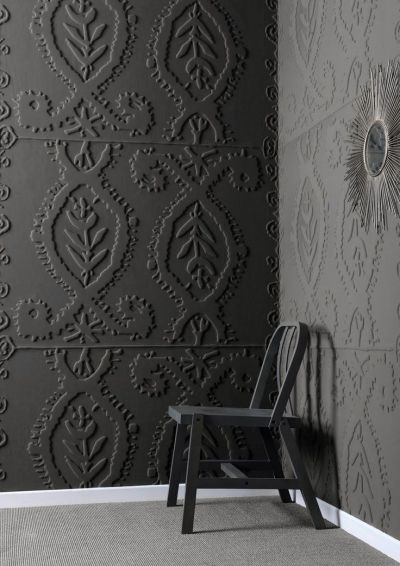 Mad About ... Anaglypta Wallpaper - Mad About The House