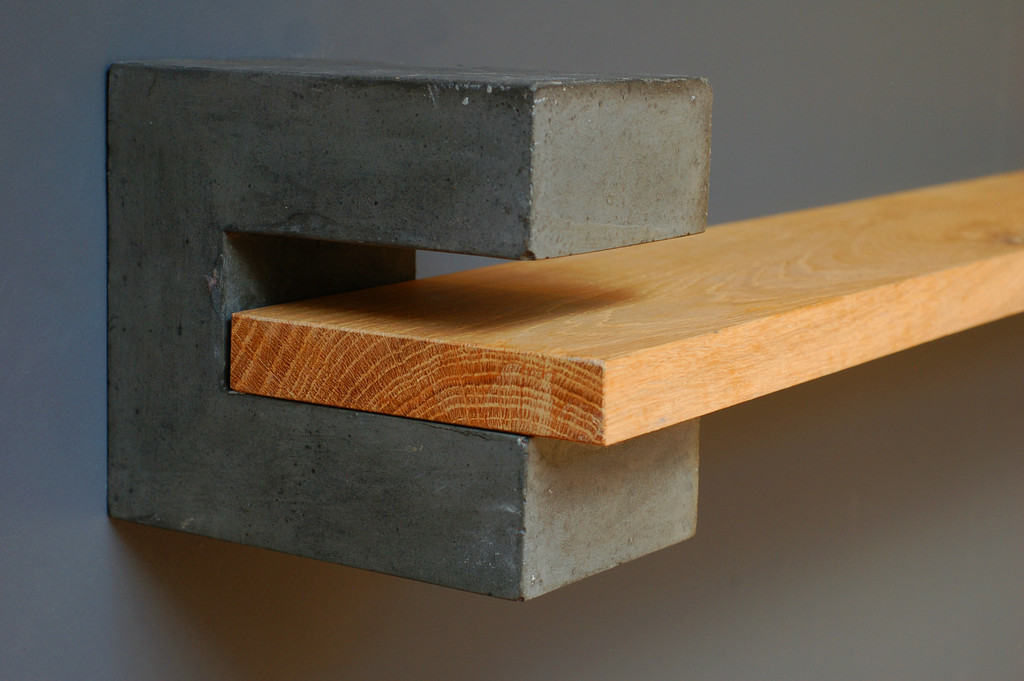 Industrial Wooden Shelving Mad About The House