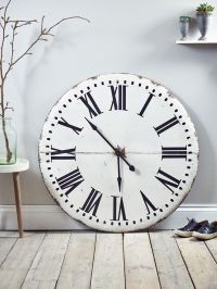 Industrial Metal Clock - Mad About The House