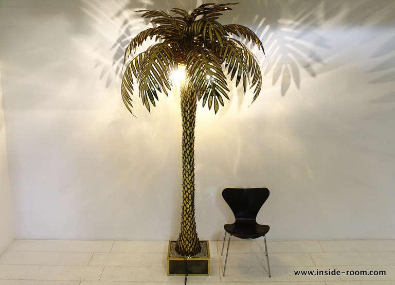 Palm tree floor lamp car essay saveenlarge california king palm tree floor lamp mozeypictures Images