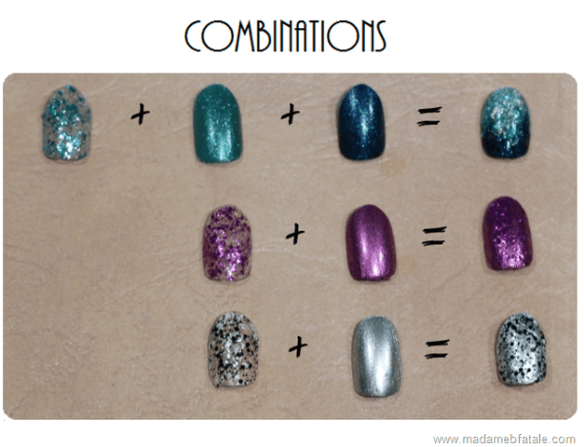 ulta3 glitterati nail collection combinations