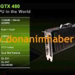 """Nvidia GeForce GTX 480 """"Fastest GPU in the World"""""""