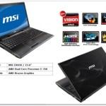 MSI prepara el CR65 basado en la APU AMD E-350 (Fusion)