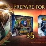 World of Warcraft con un 75% de descuento.