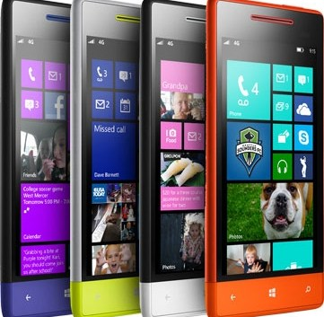 HTC revela sus nuevos smartphone Windows Phone 8X y Windows Phone 8S