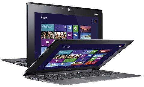 ASUS TAICHI, Ultrabook-tablet con pantalla multi-touch dual, Ivy Bridge, SSD, Windows 8 y más