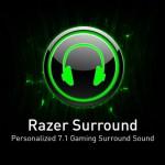 Razer transforma tus audífonos Estéreo a 7.1 Virtual con sólo un par de clicks.