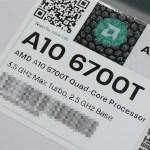 AMD lanza su nueva APU de bajo consumo A10-6700T (Richland)