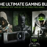 "NVIDIA anuncia su ""GeForce GTX Holiday Bundle"""