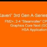 AMD presentaría sus APU Kaveri y otros anuncios en el evento APU'13