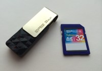Análisis Memoria SDHC 32GB Class10 y Flashdrive BLAZE B30 32GB USB3.0 Silicon Power