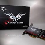 G.Skill Lanza sus nuevos SSD PCIe Phoenix Blade Series 480GB