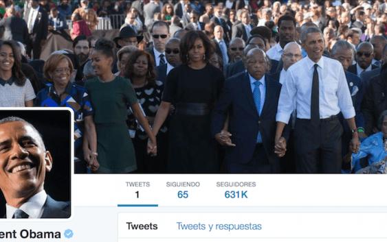 Obama finalmente tiene Twitter
