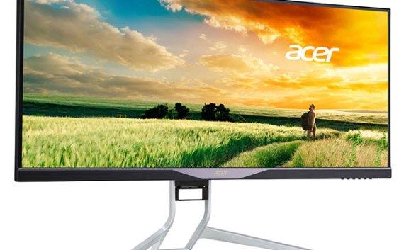 """Acer XR341CK, monitor Curvo Ultra Ancho de 34"""" con AMD FreeSync"""