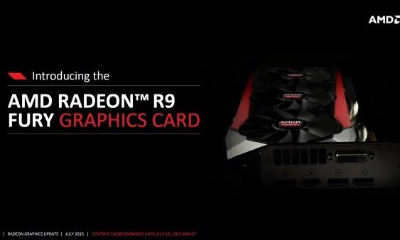 AMD lanza la Radeon R9 Fury (Datos oficiales y Reviews)