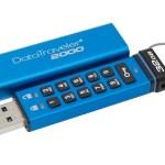 Kingston presenta USB encriptado con acceso por teclado