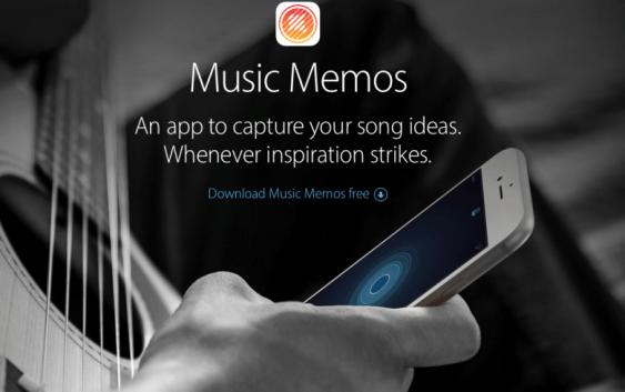 Apple lanza Apple Music Memos, una nueva app para Músicos