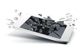 El 50% de los usuarios de smartphones ha tenido una pantalla rota o trizada