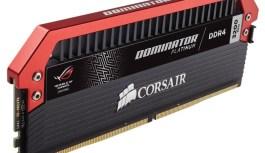 CORSAIR presenta sus nuevas DOMINATOR Platinum ROG Edition