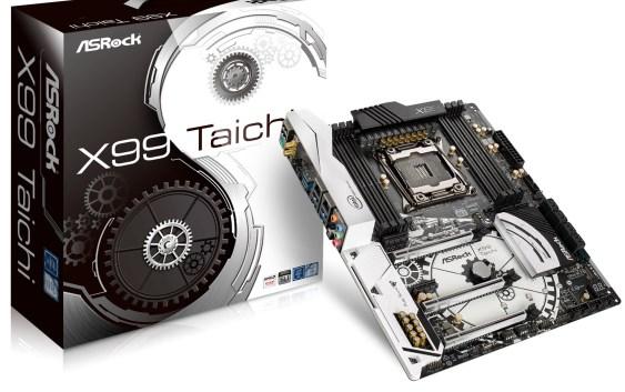 ASRock presenta sus motherboards X99 Taichi y Fatal1ty X99 Professional Gaming i7