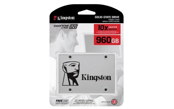 Kingston anuncia nueva capacidad de 960GB para SSD UV400