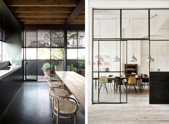 Idées déco  une salle à manger industrielle - Made in meubles