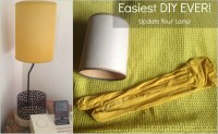 How To Make A Simple Diy Lamp Shade - DIY Projects